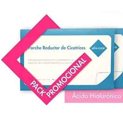 elix·care Parche Reductor de Cicatrices 20×10 cm (4 unidades - 2 Packs) pack promocional en amazon