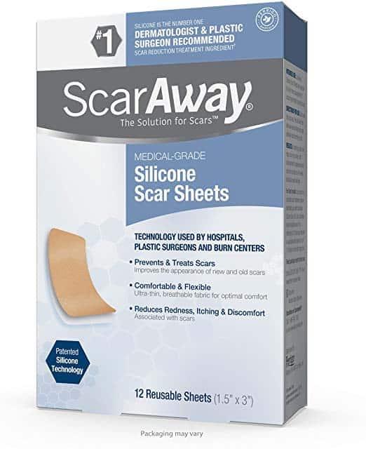 ScarAway Láminas Profesionales de Silicona