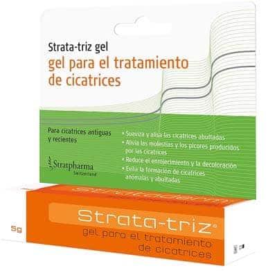 Strata-triz Gel para el tratamiento de cicatrices 5gr