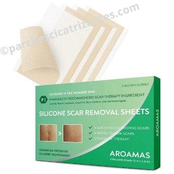 Aroamas parches de silicona para la eliminación de cicatrices