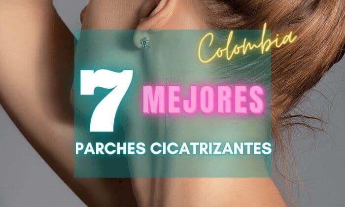 7 mejores parches cicatrizantes de silicona en Colombia - reductores de cicatrices económicos transparentes