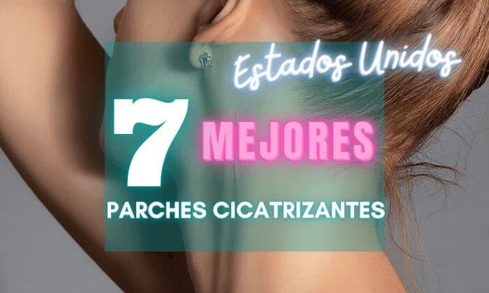 7 mejores parches cicatrizantes de silicona em México - reductores de cicatrices económicos transparentes