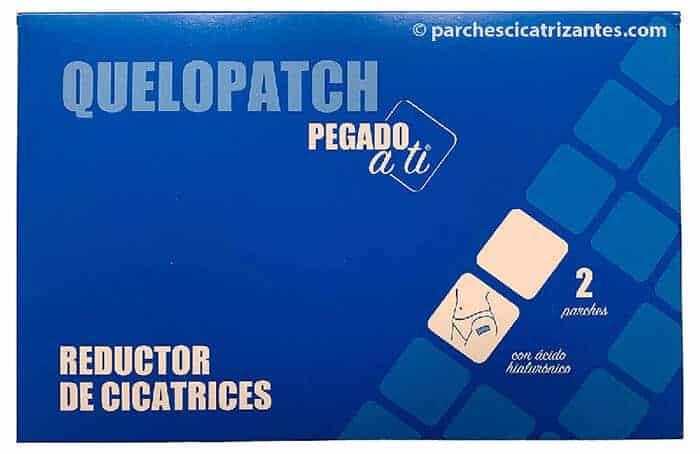 imagen frontal de alta calidad del sobre de los parches reductores de cicatrices Quelopatch